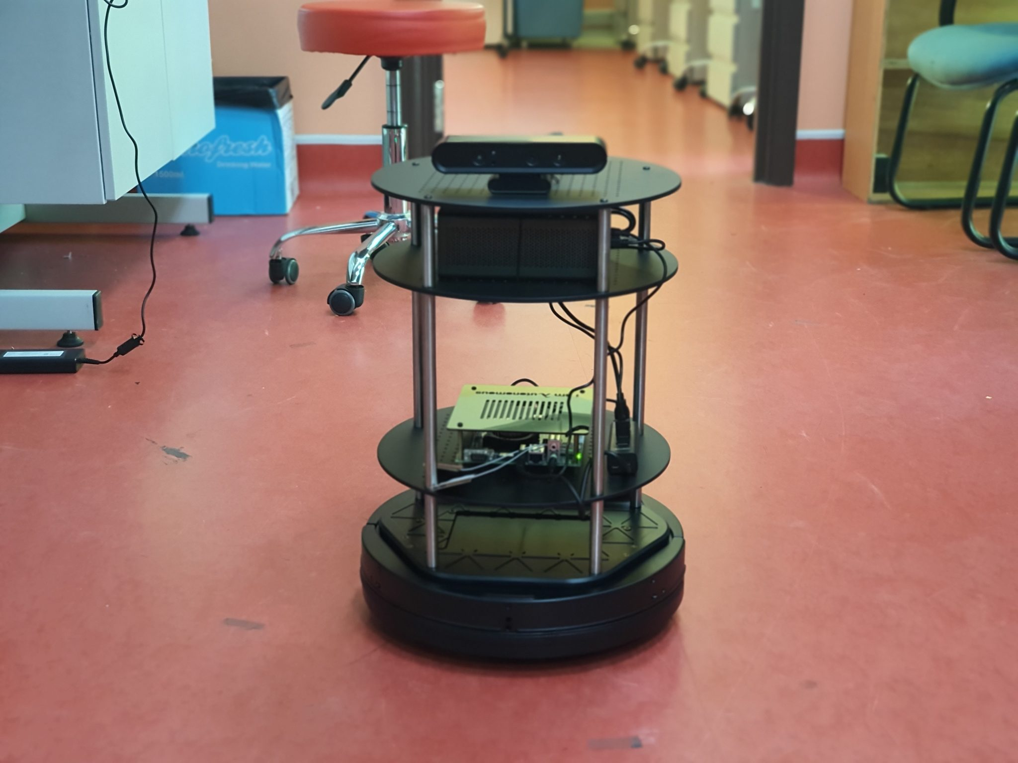 New mobile robot in Robolab, Turtlebot 2